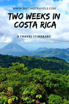 Costa Rica is home to many jungles, volcanoes, copious amounts of wildlife and jaw dropping beaches along both coasts.