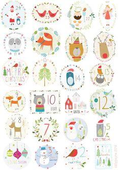 advent calendar background by sally payne. Christmas Countdown, Christmas Calendar, Christmas Love, Winter Christmas, Christmas Tables, Modern Christmas, Scandinavian Christmas, Illustration Noel, Christmas Illustration