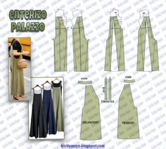 Awesome 50 Sewing tutorials projects are available on our web pages. Take a look and you wont be sorry you did. Sewing Dress, Sewing Pants, Dress Sewing Patterns, Sewing Clothes, Clothing Patterns, Fashion Sewing, Diy Fashion, Ideias Fashion, Jumpsuit Pattern