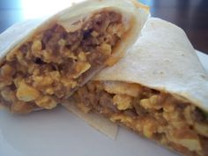 Wake up to a Mexican-inspired breakfast with this morning burrito recipe from Food.com.