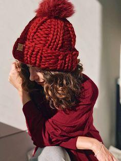 Loom Knit Hat, Knit Beanie Hat, Scarf Hat, Knit Mittens, Loom Knitting, Knit Hat For Men, Knitted Hats Kids, Knit Hats, Big Yarn Blanket