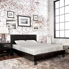 Furniture of America Kutty Queen Padded Leatherette Platform Bed - Overstock™ Shopping - Great Deals on Furniture of America Beds