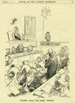 Antique Bateman Cartoon of the Inland Revenue