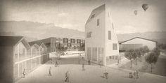 1. Preis: Perspektive, © lu-p Architektur