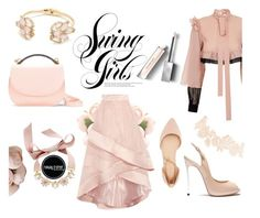 Tickle Me Pink by arissaann on Polyvore featuring polyvore, fashion, style, JIRI KALFAR, Coast, Charlotte Russe, Casadei, Cynthia Rowley, INC International Concepts, Kate Spade, Burberry and clothing