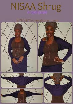 The NISAA Shrug by EYESEYEcreations on Etsy, $22.00