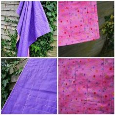 Quilted Flannel Baby Blanket | FaveQuilts.com
