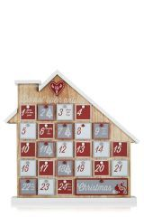 Buy Rustic Advent House from the Next UK online shop Cute Christmas Gifts, Christmas Baubles, Christmas Wishes, Christmas Shopping, Christmas Decorations, Holiday Decor, Christmas Ideas, Wooden House Advent Calendar, Advent House