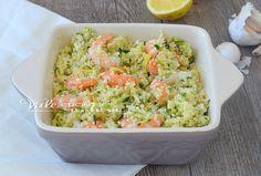 Cous Cous gamberi zucchine e limone ricetta facile e velocissima, un piatto leggero e gustoso, profumato, da gustare in estate freddo e saporito