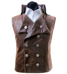 Steampunk - Steampunk Vest - Mens Vest - Steampunk Victorian - Mens Victorian Vest - Vest