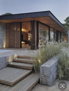 Modern Architecture House, Modern House Design, Architecture Design, Design Hotel, House In The Woods, My Dream Home, Exterior Design, Future House, Contemporary Houses