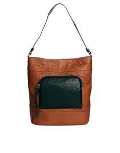 Image 1 ofASOS Casual Bucket Bag With Chunky Zip