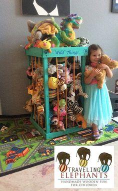 38 Stuffed animal storage stuffed animal by TravelingElephants