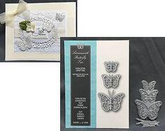 Butterflies Die Set LEAVENWORTH BUTTERFLY TRIO 99098 Memory Box Dies Insects #MemoryBox