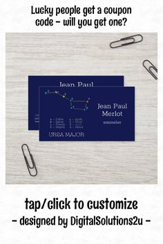 Premium Business Cards, Salon Business Cards, Artist Business Cards, Minimalist Business Cards, Unique Business Cards, Professional Business Cards, Business Card Design, Ursa Major, Some Text