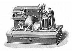 Muirhead Morse inker / Rankin Kennedy Electrical Installations, Vol V, 1903 Electrical Installation, Nikola Tesla, Industrial Revolution, Bookends, Modern, Tesla Inventions, Bowler Hat, 1920s, Homeschool