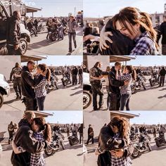 Jax and Tara - was this when they came home after being in prison scene, right? Sons Of Anarchy Tara, Sons Of Anachy, Sons Of Anarchy Samcro, Fortunate Son, Sons Of Anarchy Motorcycles, Ryan Hurst, Charlie Hunnam Soa, Nerd, Jax Teller