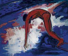 Im Sprung by Helmut Middendorf