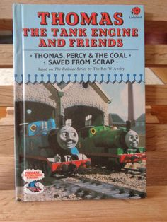 Vintage Ladybird Book Thomas The Tank Engine And Friends Classic Illustrated Childrens Kids Pre School Storybook
