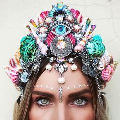 Mermaid Crowns sind der neueste Trend auf Instagram