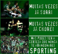Nunca te abandonaremos! #Sporting #SportingClubePortugal #sportingfans