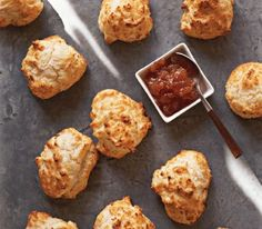 Buttermilk Drop Biscuits only take about ten minutes to prep & 25 minutes to bake.
