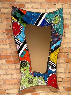 stained glass boxes, mosaic mirrors and woven glass & glass weaving by glassboxguy