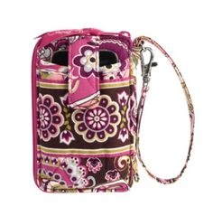 "Vera Bradley Carry It All Wristlet in Very Berry Paisley, $42 | ""A necessity for keeping our phones (and new gift cards!) handy."""