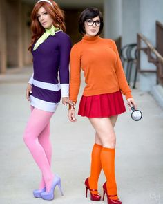 Kristen Hughey as Velma & Karen Kaplewicz as Daphne