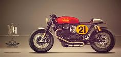 RocketGarage Cafe Racer: Red or Blu