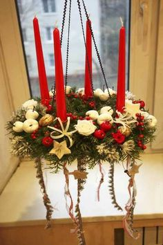 Novel Christmas Home Decoration Ideas, Christmas Chandeliers in 2013