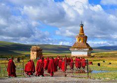 Sershul Tekschen Dargyeling Monastery, Tibet