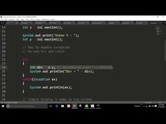 Exception Handling - Try - catch - Java Program