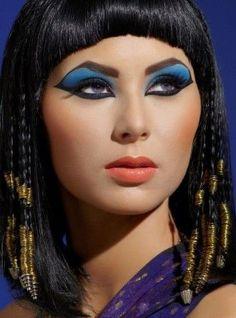 halloweenmakeup for the gods! Badass Cleopatra makeup by ...
