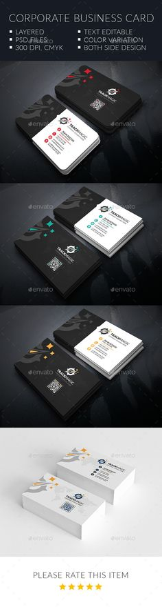 Track Magic Corporate Business Cards - Corporate Business Card Template PSD. Download here: http://graphicriver.net/item/track-magic-corporate-business-cards/12536414?s_rank=1765&ref=yinkira