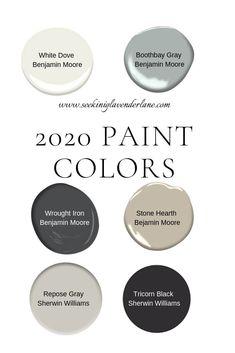 Paint Colors for a 2020 Home - Seeking Lavendar Lane - Paint Colors for a 2020 . - Paint Colors for a 2020 Home – Seeking Lavendar Lane – Paint Colors for a 2020 Home – Seekin - Bedroom Paint Colors, Paint Colors For Home, Gray Paint Colors, Basement Paint Colors, Neutral Paint, Dark Gray Paint, Wall Painting Colors, Stone Colour Paint, Basement Color Schemes