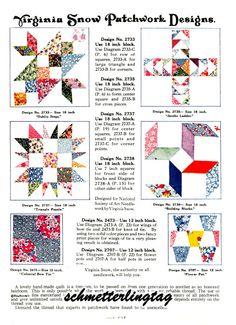 depression era quilts   Depression Era Patchwork Quilt Book Patterns C1930   eBay