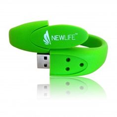 Wristband Custom USB Flash Drives provide a wearable element to a flash drive and a robust rubber design. A fun and stylish solution to your Custom Flash Drive needs. Memory Sticks, Cool Stuff, Stuff To Buy, Usb Flash Drive, Printed