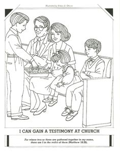 Primary 3 Manual Lesson 40 Worshiping at Church Journal Page ...