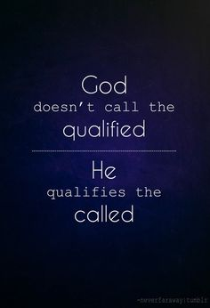 Qualify the called!!