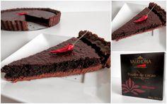 Chocolate chilli tart with rosehip marmelade Baking Recipes, Tart, Chocolate, Desserts, Life, Food, Cooking Recipes, Tailgate Desserts, Deserts