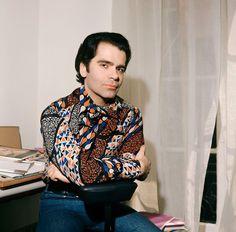 Karl Lagerfeld, 1972