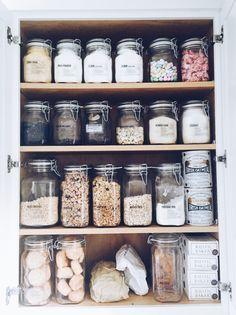 DIY Kitchen Jar Shelves Tutorial | Blogger Home Projects We ... on