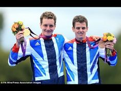 Alistair Jonny Brownlee Brothers - Gold & Silver - Great Britain - Triat...