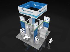 SAMB001 – 20×20 Trade Show Display Rental find more on xibitmax.com or xibitrents.com  #tradeshow