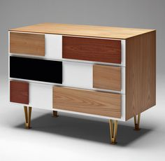 GIO PONTI Chest of drawers from Ponti's Cassettone series designed in 1956.