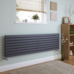 Flat panel Capri style radiator by Milano Heating.