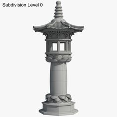 Chinese Stone Lamp Model available on Turbo Squid, the world's leading provider of digital models for visualization, films, television, and games. Landscape Architecture Drawing, Japan Architecture, Chinese Architecture, Historical Architecture, Ancient Architecture, Concept Art World, Game Concept Art, Environment Concept Art, Gothic Gargoyles