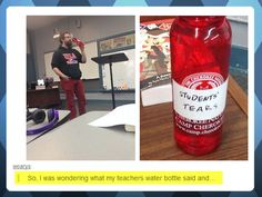 So that's what give teachers their will power  - funny pictures #funnypictures