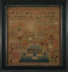 "SAMPLER WORKED AT MRS. SIMSON""S SEMINARY."